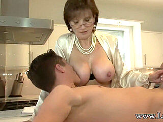 Hot Mom, Japanese Nourisher Increased By Son, Hot Mature